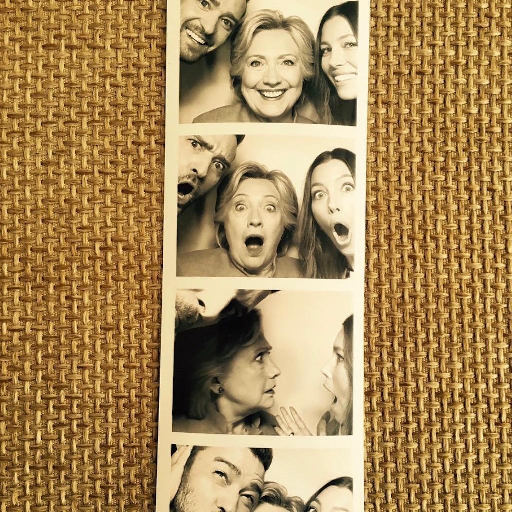 Bild von Justin, Jessica und Hillary