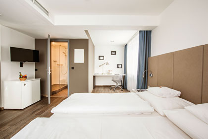 Wochenende zum Verlieben mit Kizzle / Hotel-BURNS-fair-more-Zimmer
