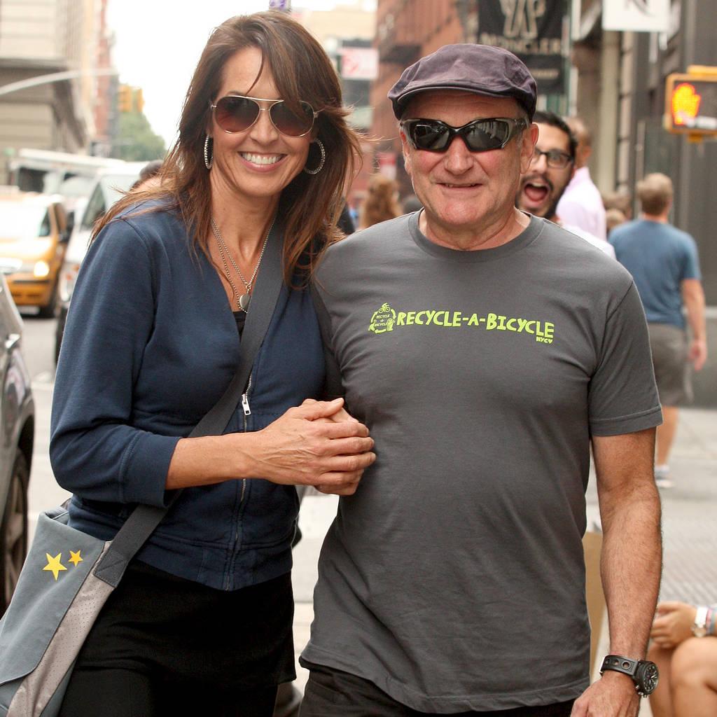 Bild von Susan Schneider und Robin Williams