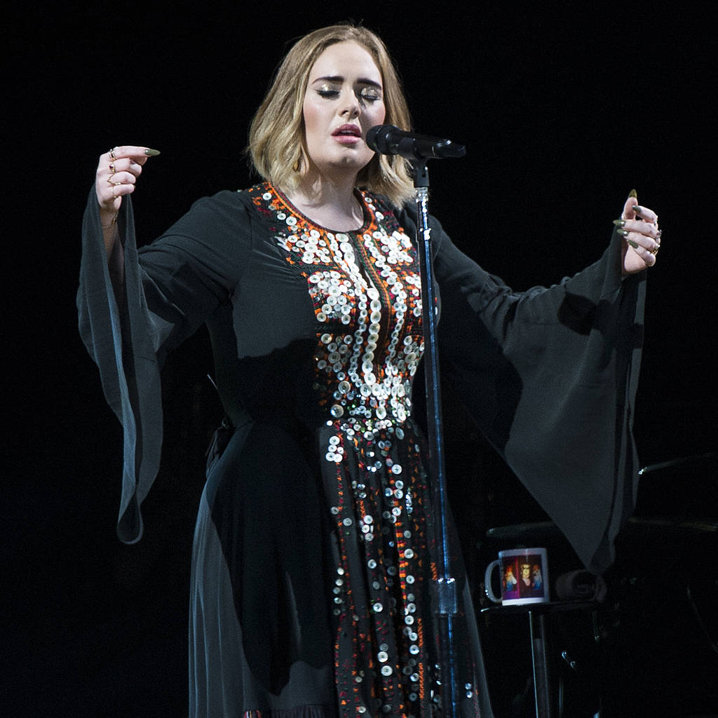 Bild von Adele
