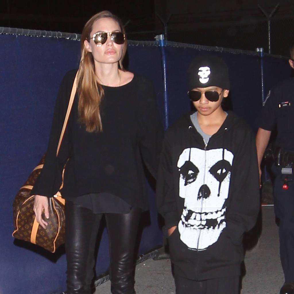 Bild von Angelina Jolie und Maddox