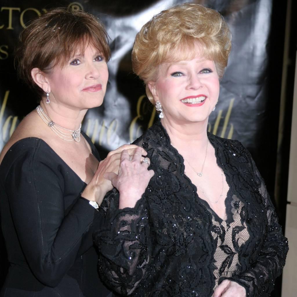 Bild von Carrie Fisher und Debbie Reynolds