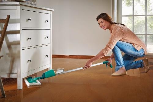 Neu! Leifheit Pflegesystem für alle Holzböden