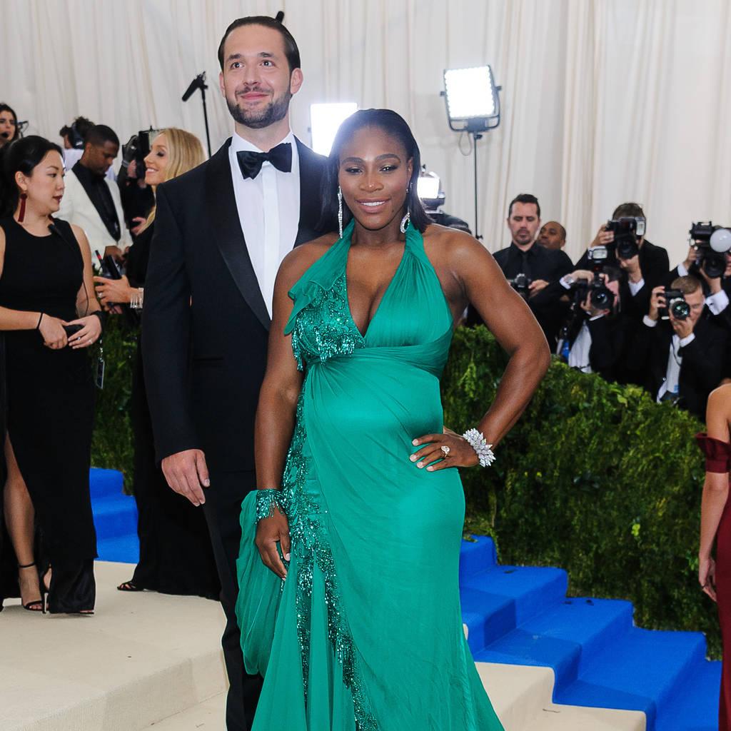 Bild von Alexis Ohanian und Serena Williams