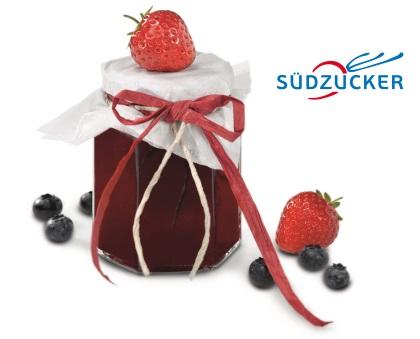 Erdbeer-Heidelbeer-Brotaufstrich