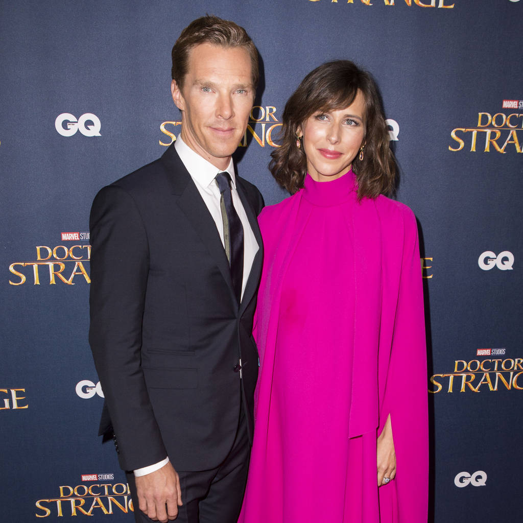 Bild von Benedict Cumberbatch und Sophie Hunter