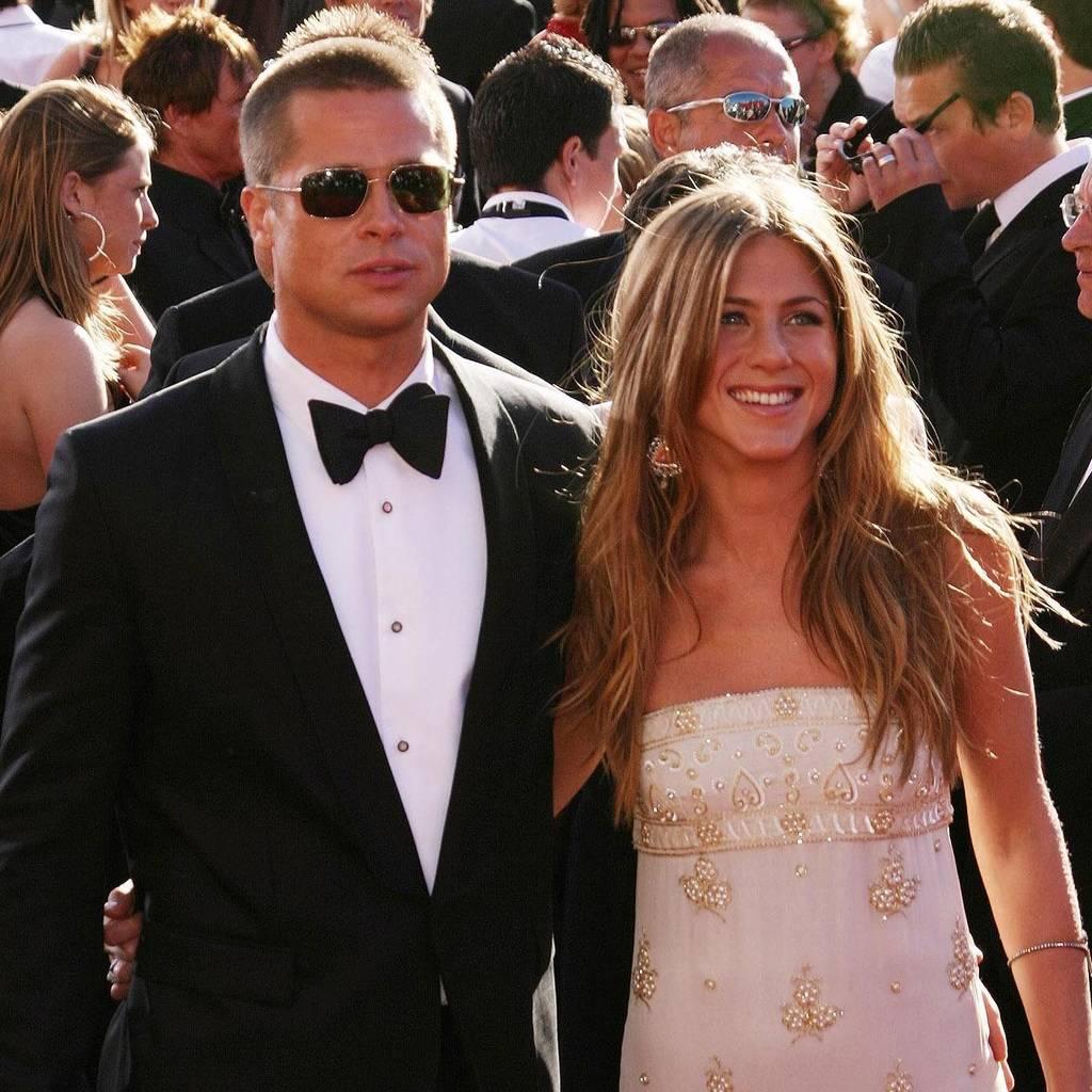 Bild von Brad Pitt und Jennifer Aniston