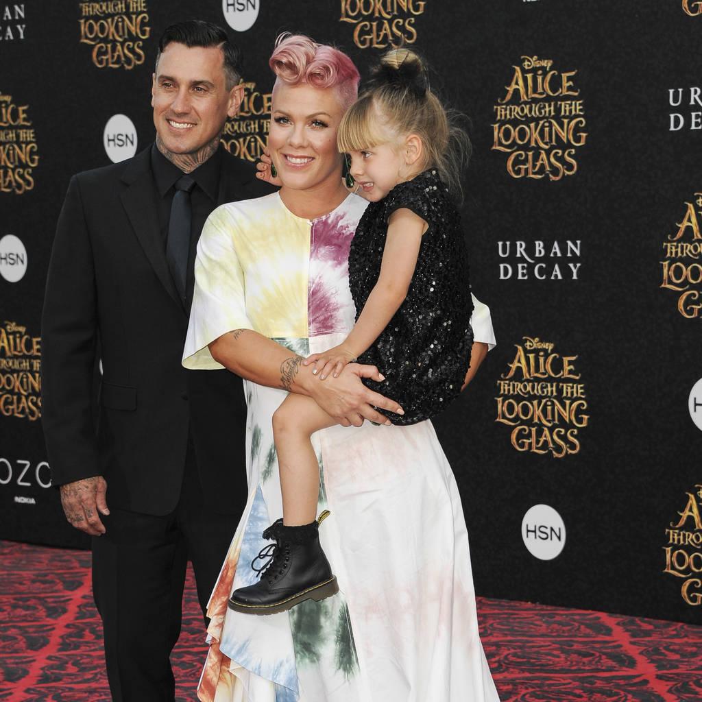 Bild von Carey Hart, Pink und Tochter Willow