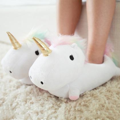 Unicorn Hausschuhe © Radbag
