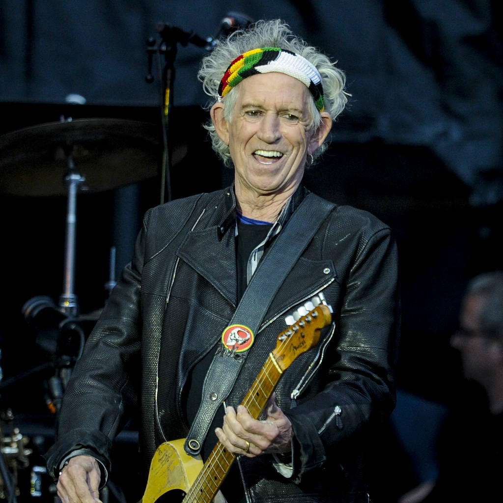 Bild von Keith Richards