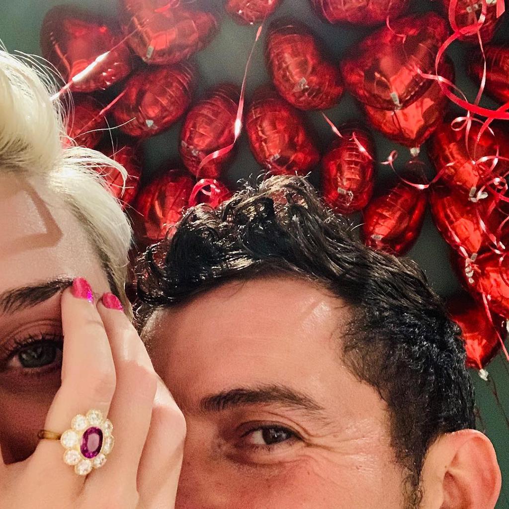 Bild von Katy Perry und Orlando Bloom haben sich verlobt
