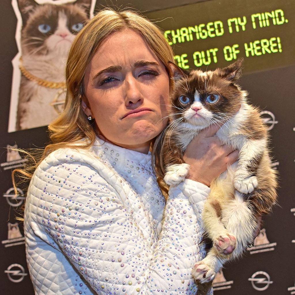 Bild von Besitzerin Tabatha Bundesen wird Grumpy Cat sicher schmerzlich vermissen