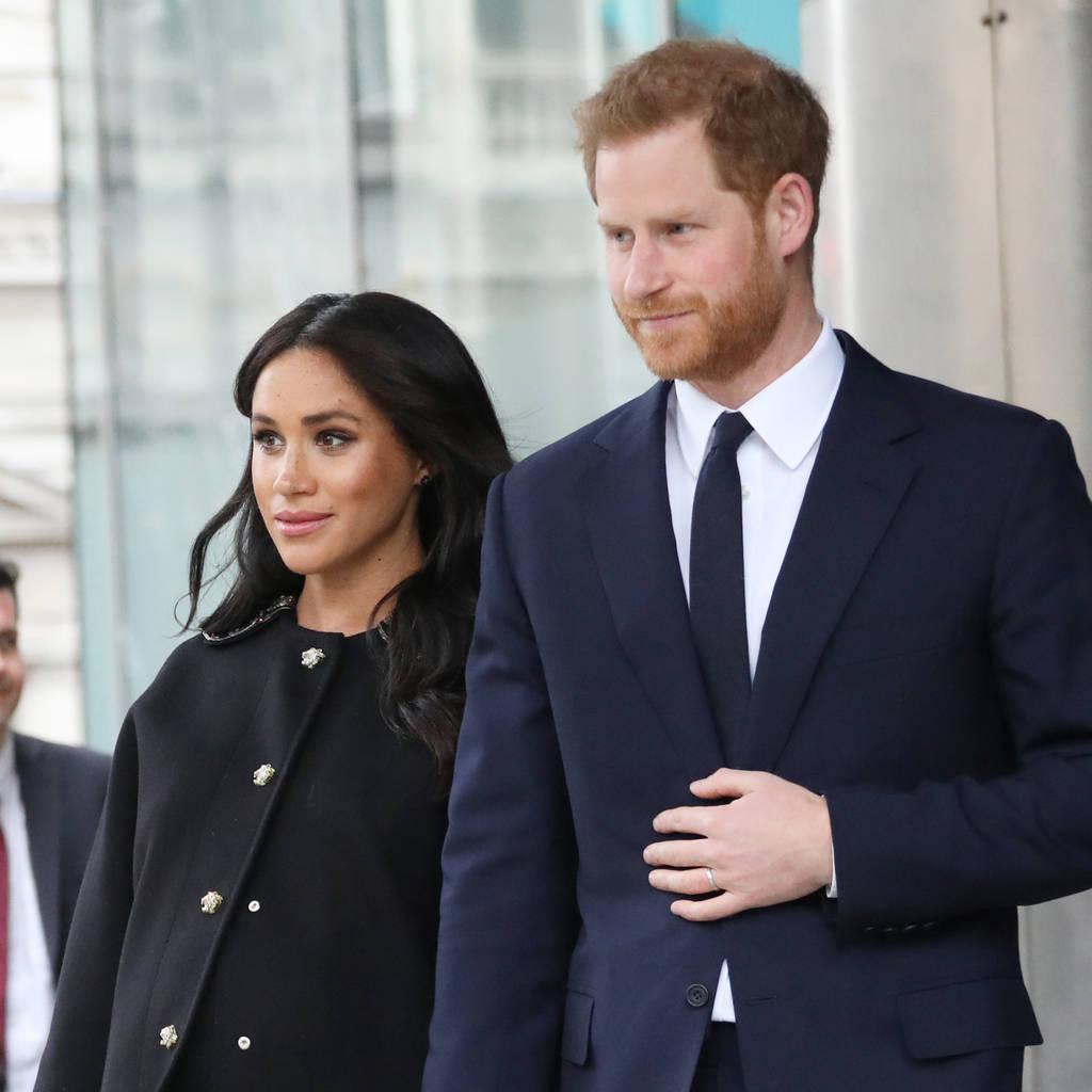 Bild von Prinz Harry und Herzogin Meghan