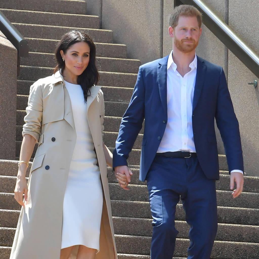 Bild von Herzogin Meghan und Prinz Harry