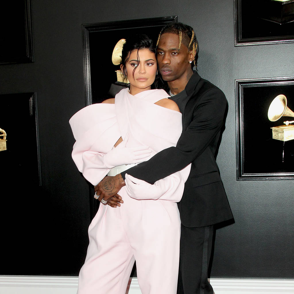 Bild von Kylie Jenner und Travis Scott