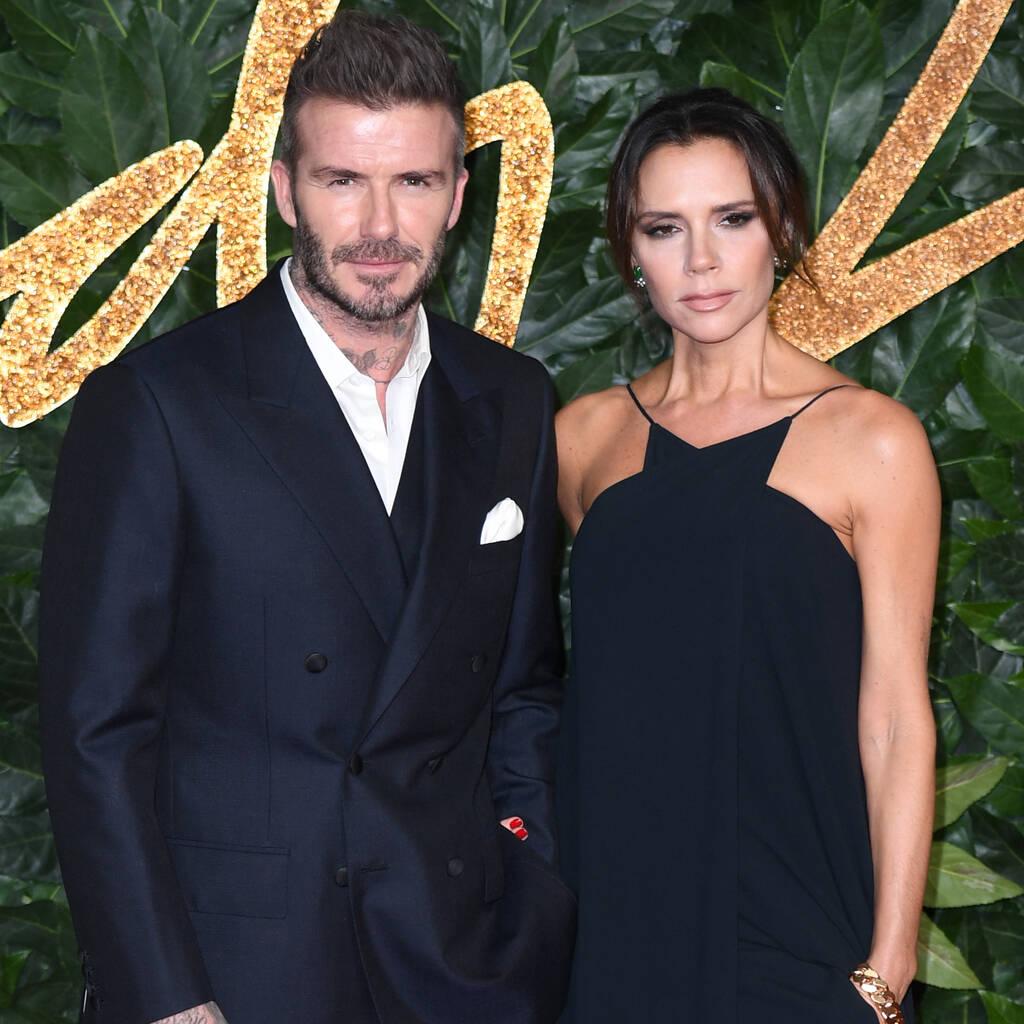 Bild von David Beckham und Victoria Beckham