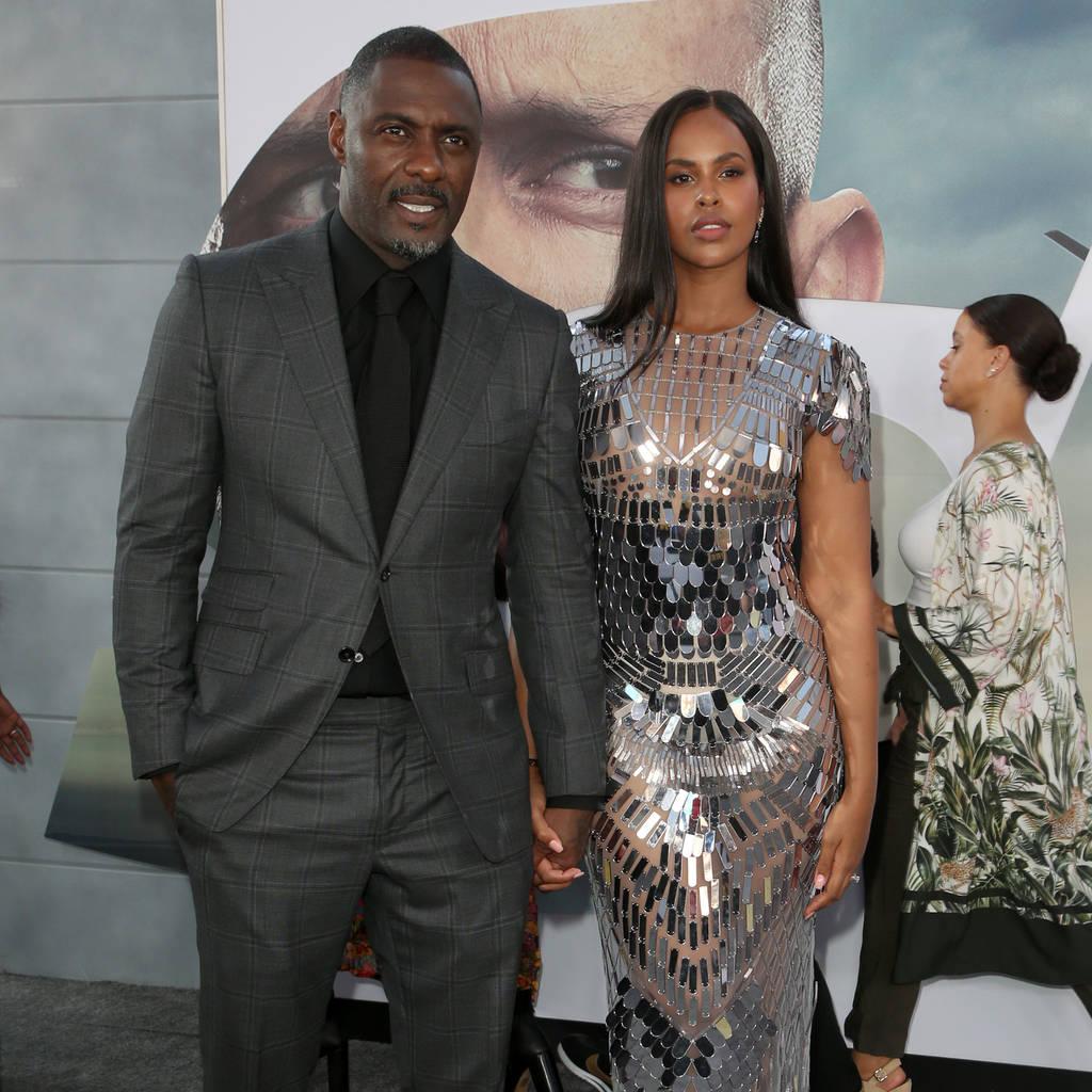 Bild von Idris Elba und seine Frau Sabrina