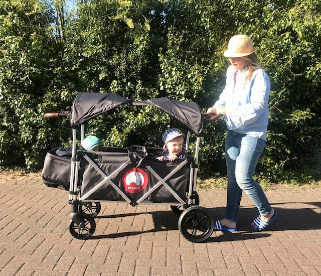 Bollerwagen im Check: wir haben den FamilyStar von elvent getestet